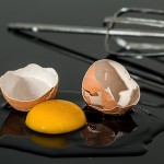 Is the cholesterol in eggs in the yolk or white?