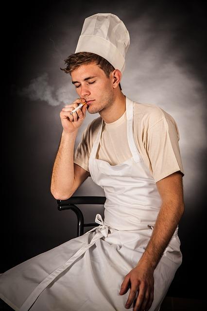 Does smoking raise cholesterol levels?