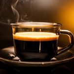 Can I drink coffee before a fasting blood test for cholesterol?